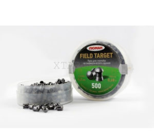 Пули ЛЮМАН круглоголовые Fild Target 500 шт., 0.68 гр., код 10043