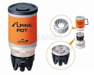 Газовая горелка Kovea KB-0703W Alpine Pot Wide, код KB-0703