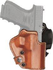 Кобура Front Line LKC для Glock 19/23/32. Материал – Kydex/кожа/замша. Цвет – коричневый, код 2370.22.34