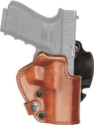 Кобура Front Line LKC для револьвера 2″. Материал — Kydex/кожа/замша, код 2370.22.53