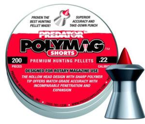 Пули пневматические JSB Polymag Shorts 5.5 мм , 1.03 г, 200, код 1453.05.64