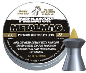 Пули пневматические JSB Metalmag 5.5 мм , 1.03 г, 200, код 1453.05.66