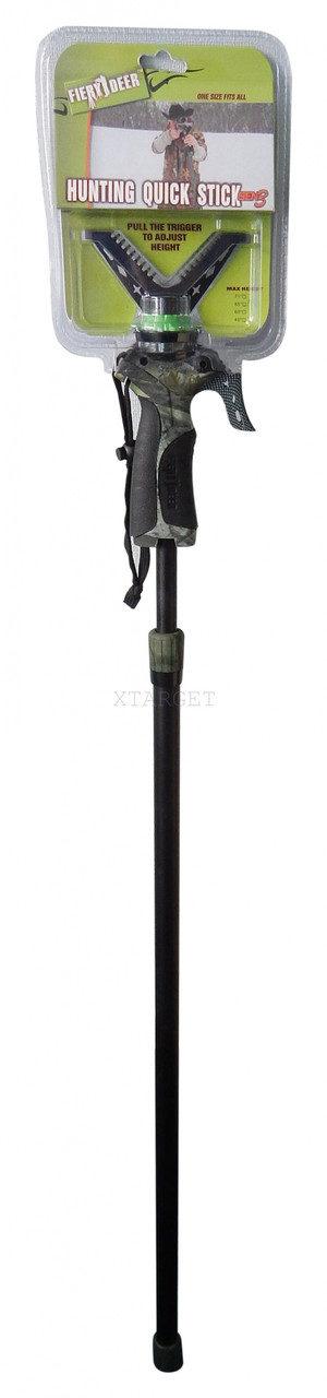Монопод для стрельбы Fiery Deer Monopod Trigger stick (90-165 см), код 25502