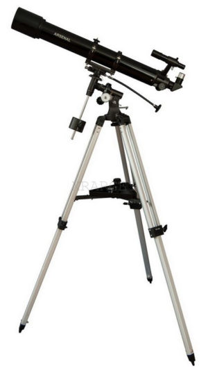 Телескоп Arsenal — Synta 90/900, EQ2, рефрактор, код 909EQ2