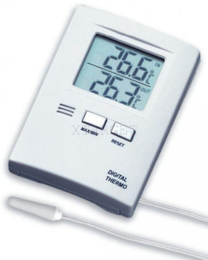 Термометр цифровой TFA, внешний проводной датчик, 85х60х15 мм, код 301012