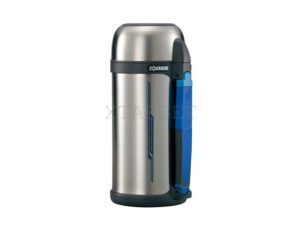 Термос ZOJIRUSHI SF-CС15XA 1.5 л (складная ручка+ремешок) ц:стальной, код 1678.00.18