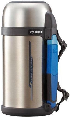 Термос ZOJIRUSHI SF-CС18XA 1.8 л (складная ручка+ремешок) ц:стальной, код 1678.00.19