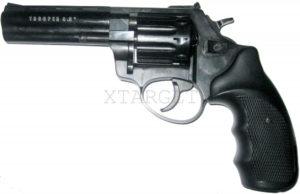 Револьвер под патрон Флобера TROOPER 4,5″ (черн/пласт), код 10955