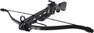 Арбалет Man Kung MK-150A1PB, Рекурсивный, винтовочного типа, пластик. приклад ц:черный, код 100.00.47