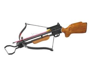 Арбалет Man Kung MK-150A1, Рекурсивный, винтовочного типа, деревянный приклад ц:коричневый, код 100.00.45