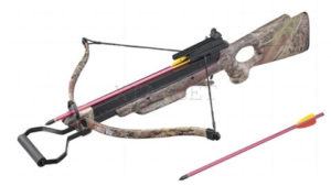 Арбалет Man Kung MK-150A3TC, Рекурсивный, винтовочного типа, пластик. приклад ц:camo, код 100.00.40