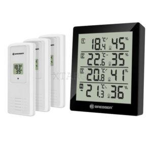 Термометр-гигрометр Bresser Temeo Hygro Quadro black, код 923261