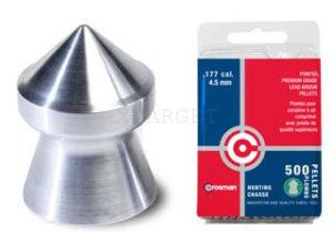 Пули Crosman Hunting 4.5 мм, 500 шт., 0.48 гр, код 7-P577