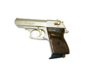 Сигнальный пистолет EKOL Lady 9 мм сатин с позолотой, код 1420.00.10