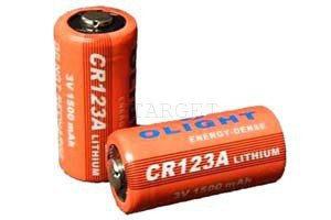 Батарея Olight CR123A 3.0V,1500mAh, код 2370.12.75