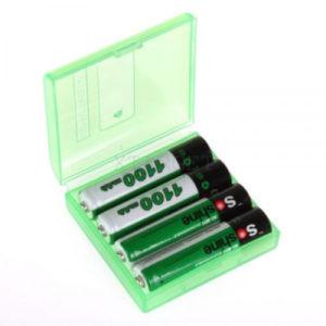 Комплект аккум. батарей Soshine Ni-Mh AAA 1.2V 1100mAh с кейсом, код 2370.16.13