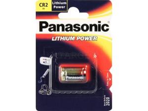 Батарея Panasonic CR-2L BLI 1 LITHIUM, код 3992.00.11