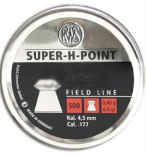 Пули RWS Super H-Point 4.5 мм, 0.45гр. (500шт.), код 8650