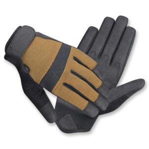 Summer Shooter стрелковые перчатки Edge, цвет Black/Brown, р.L, код 3166