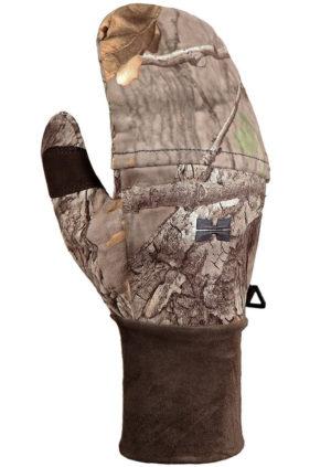 Ветронепроницаемые перчатки с отворотом Hillman, фотокамуфляж 3DX, р.L, код 906