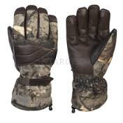 Теплые перчатки с откидным пальцем HOLIK Evelyn Open, р.10, код 8316