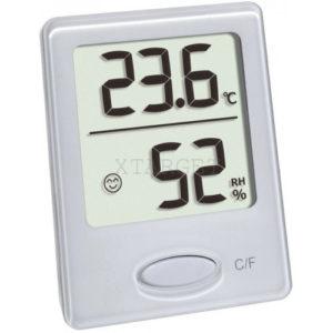 Термогигрометр цифровой TFA, 46x18x59 мм, белый, код 30504102