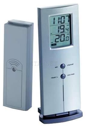 Термометр цифровой TFA LOGO, внешний радиодатчик, 170х65х35 мм, код 30300954.IT