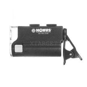 Микроскоп для смартфона KONUS KONUSCLIP 60x-100x, код 3710