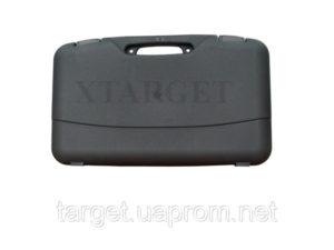 Кейс Mega line 50x30x8.5 пластиковый, черный,клипсы, код 1425.00.92