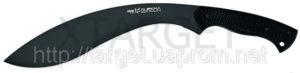 Кукри Fox Gurkha ,рукоять – пластик ABS, черное покрытие, код 1753.01.11