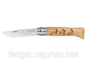 """Нож Opinel """"Олень"""", дуб, код 204.78.85"""