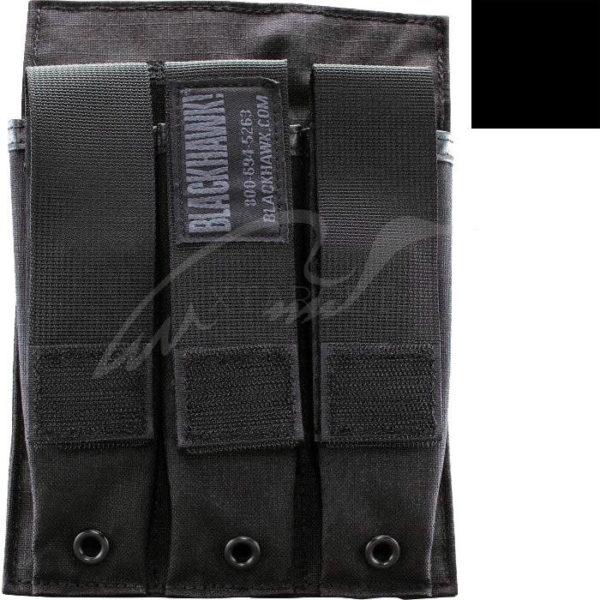 Подсумок BLACKHAWK под три магазина MP5 ц:черный, код 1649.12.27
