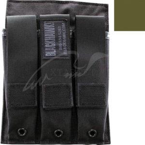 Подсумок BLACKHAWK под три магазина MP5 ц:олива, код 1649.12.29