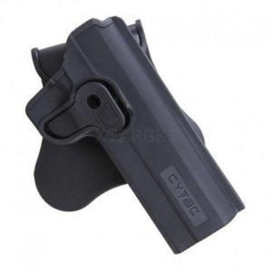 Кобура Cytac для Colt 1911 вращающаяся ц:черный, код 2370.24.15