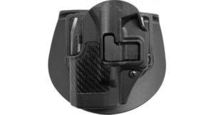 Кобура BLACKHAWK SERP CQC для Glock 26/27/33 левша, полимерная ц:черный, код 1649.11.75