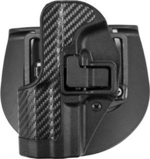 Кобура BLACKHAWK SERP CQC для Glock 19/23/32/36 левша, полимерная ц:черный, код 1649.11.76