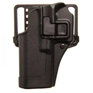 Кобура BLACKHAWK SERP CQC Concealment для Glock 19/23/32/36 левша, полимерная ц:черный, код 1649.13.04