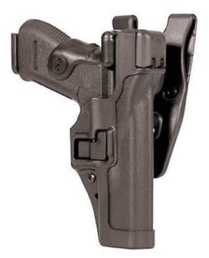 Кобура BLACKHAWK SERPA® Level 3 Auto Lock, поясная, для Glock 17/19/22/23/31/32 полимерная ц:черный, код 1649.12.05