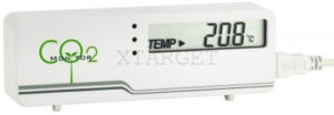 Измеритель уровня CO2 TFA AirCO2ntrol Mini, 116х24х42 мм, код 31500602