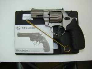"""Револьвер флобера STALKER Titanium 4 мм 2.5"""" черн. рук., код 3880.00.06"""
