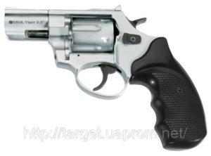 Револьвер под патрон Флобера Ekol Viper 3» Chrome, код 22795
