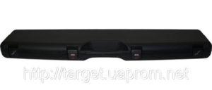 Кейс Mega line 125x25x11 пластиковый, черный, кодовый замок, код 1425.00.87
