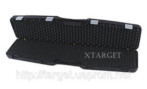 Кейс Mega line 110x25x11 пластиковый, черный, клипсы, код 1425.00.88