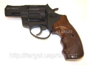 Револьвер флобера STALKER 4 мм 2,5″ коричн. рук., код 3680.00.01