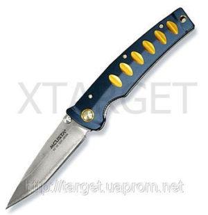Нож MCUSTA Katana (алюминий синийжелтый), код 2370.11.07