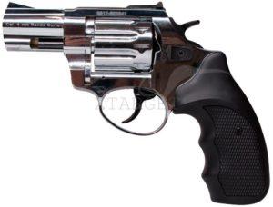 Револьвер флобера STALKER 4 мм 2,5″ никель,черн. рук., код 3880.00.37
