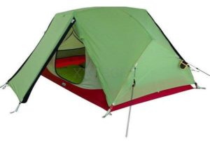 Палатка Wechsel Challenger 2 Zero-G (Pear) + коврик High Peak Tulsa надувной  2 шт, код 923793