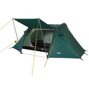 Палатка Wechsel Pioneer 2 Unlimited (Green) + коврик High Peak Tulsa 183x47x6.5cm 2 шт, код 923795