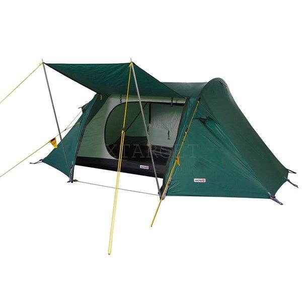 Палатка Wechsel Pioneer 2 Unlimited (Green) + коврик High Peak Tulsa 183x47x6.5cm 2 шт, код 923795