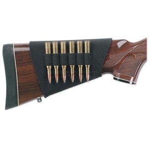 Патронташ на приклад Uncle Mike's на 6 нарезных патронов .30 калибра, код 88483